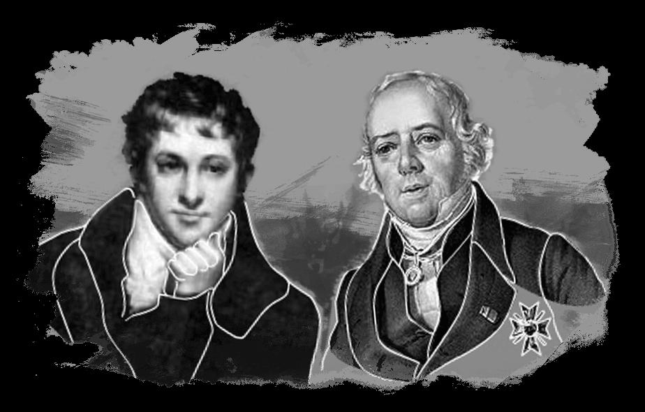 Sir Humphry Davy en Hans Christiaan Ørsted